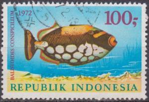 Indonesia #836 F-VF Used CV $5.00 (ST884)