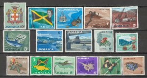 COLLECTION LOT # 4341 JAMAICA #217-32 MNH 1964 CV+$20