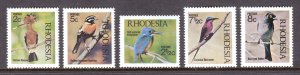 Rhodesia - Scott #304//308 - Short set - MNH - SCV $16.05