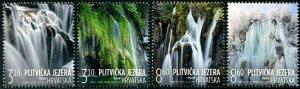 HERRICKSTAMP NEW ISSUES CROATIA Tourism 2019 Waterfalls