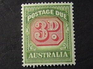 AUSTRALIA # J74-MINT NEVER/HINGED---POSTAGE DUE---1946-57
