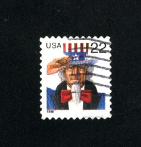USA # 3259  2  used 1998 PD .08