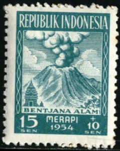 INDONESIA #B69, UNUSED - 1954 - INDO017