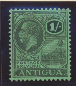 Antigua Stamp Scott #53, Mint Hinged - Free U.S. Shipping, Free Worldwide Shi...