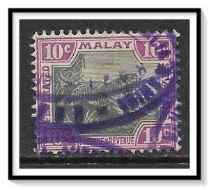 Malaya, Federation #31c Tiger Used