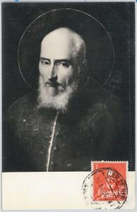 MAXIMUM CARD  -  RELIGION : San Juan de Rivera - SPAIN 1969
