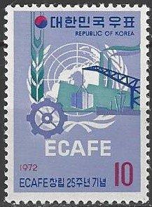South Korea 814  MNH  ECAFE