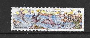 BIRDS - ST PIERRE and MIQUELON #915  MNH