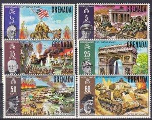 Grenada #373-8 MNH CV $8.75   (Z7853)