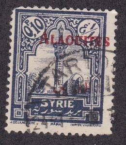 Alaouites # 25, Syrian Stamp Overprinted, Used,