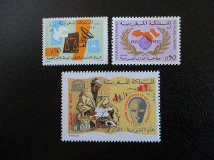 Morocco #235-37 Mint Never Hinged (L7H4) WDWPhilatelic