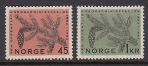 Norway 406-7 mnh