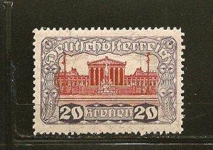 Austria 226 Parliament Building Mint Hinged