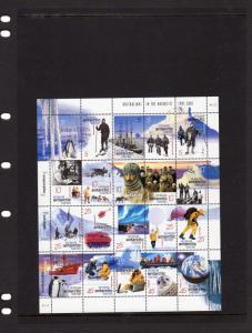 AAT 2001 Australians In the Antarctic MNH M/s