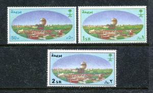 Saudi Arabia 1306-1308, MNH, 2000-2001, Buraidah 1v. x27312