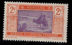 Mauritania Scott 52 MH* 2 Franc stamp