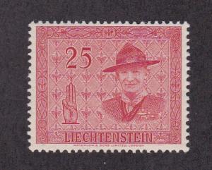 Liechtenstein  272, F-VF, MNH