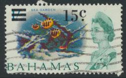 Bahamas  SG 282 SC# 239 Used  OPT Decimal Currency 1966