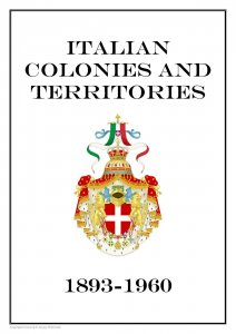 Italian Colonies and Territories 1893-1960 PDF(DIGITAL) STAMP ALBUM PAGES