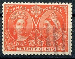 Canada #59  Used F-VF  - Lakeshore Philatelics