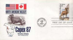United States, First Day Cover, Animals