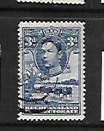 BECHUANALAND PROTECTORATE, 128, USED, CATTLE, BAOBAB TREE, GEORGE VI