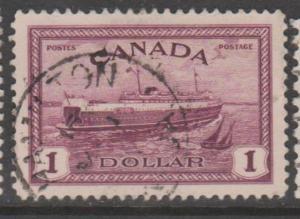 Canada Scott #273 Stamp - Used Single