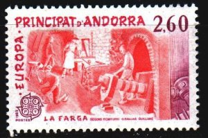 Andorra. 1983. 335 from the series. Center for Cultural Meetings, artists' br...