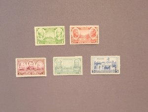 785-794, Army & Navy Issue, All Mint OGNH, CV $5.50