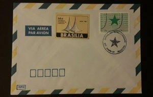 1981 Brasilia Brazil World Congress Of Esperanto Illustrated Cover