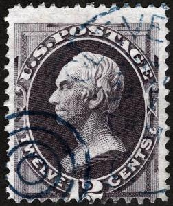 US Sc 151 Used Blue Taget and CDS Cancel NBNCo Printing