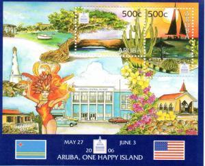 Aruba 284 MNH .