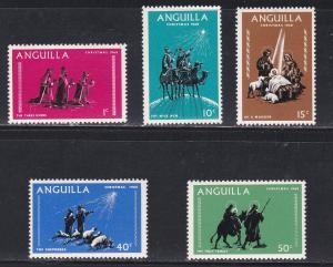 Anguilla MNH 44-8 Christmas 1968
