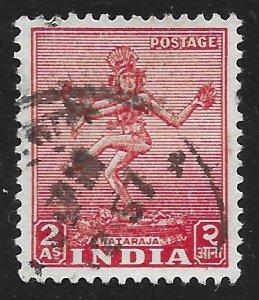 India #211 2a Nataraja