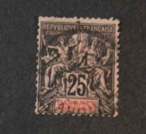 Dahomey #8 Used-SCV=$24.00