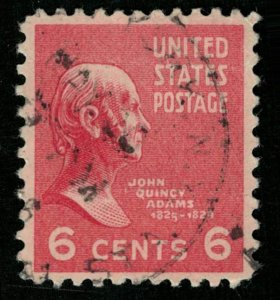 USA, John Quincy Adams, 6 cents, (2923-Т)