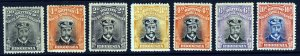 RHODESIA King George V 1913-24 Admirals Group Perf.14  SG 209 to 270 MINT