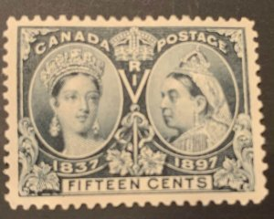 Canada #58 MINT H Jubilee C$400.00 --PERFECT CENTERING--