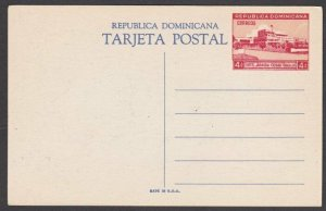DOMINICAN REPUBLIC 1949 4c pictorial postcard - Ramfis Park - mint..........R371
