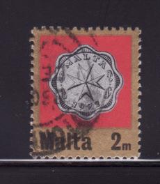 Malta 439 U Coins on Stamps (A)