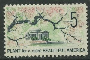 STAMP STATION PERTH USA #1318  MNH OG 1966  CV$0.25.
