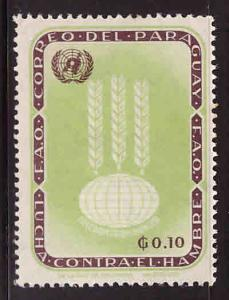 Paraguay Scott 760 MH* FAO stamp