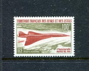 Afars and Issas C56, MNH,  Concorde 1969. x18725