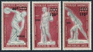 Gabon C134-36,MNH.Michel 489-491. Olympics Munich-1972,Gold Medal Winners.