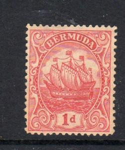 BERMUDA #83  1928  1p  CARAVEL     MINT  VF NH  O.G  cc