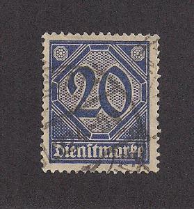 GERMANY SC# O5 F-VF U 1920