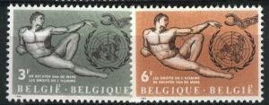 Belguim 1962 585-86 mnh set scv $0.70 BIN $0.28 Save 60%