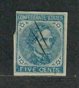 CSA Sc#6 Used, Dark Blue Rare Dark Color Shade