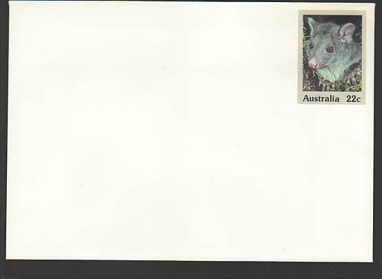 Australia Animal Unused Postal Envelope