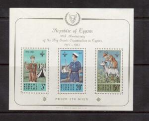 Cyprus #226a VF/NH Souvenir Sheet
